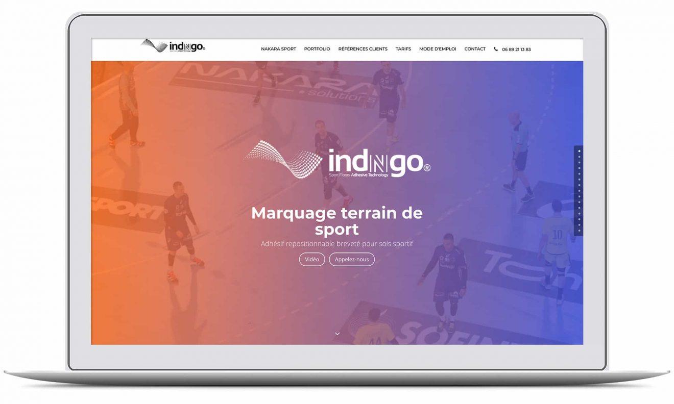 Création du site internet INDNGO par G&M Communication Strasbourg Orangerie